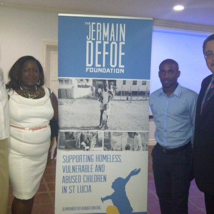 Visit to St. Lucia – The Jermain Defoe Foundation Launch