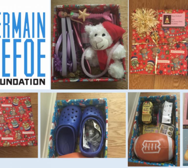 The Jermain Defoe Foundation Christmas Shoebox Appeal is back for 2017!