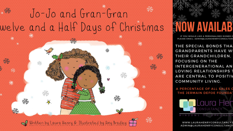 Laura Henry's new Christmas book: Jo-Jo and Gran-Gran Twelve and a Half Days of Christmas