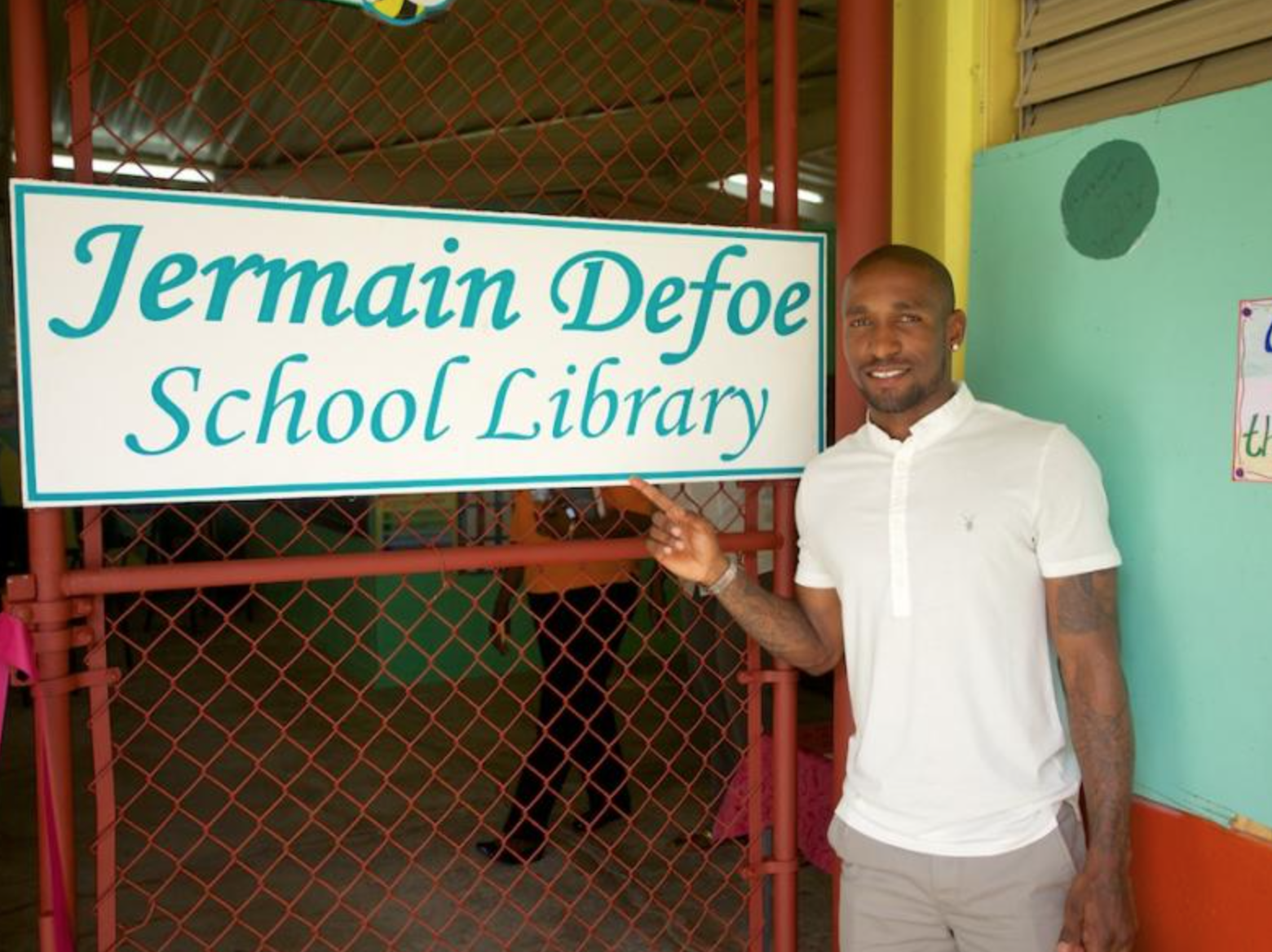 Soufriere Primary School Library 2010
